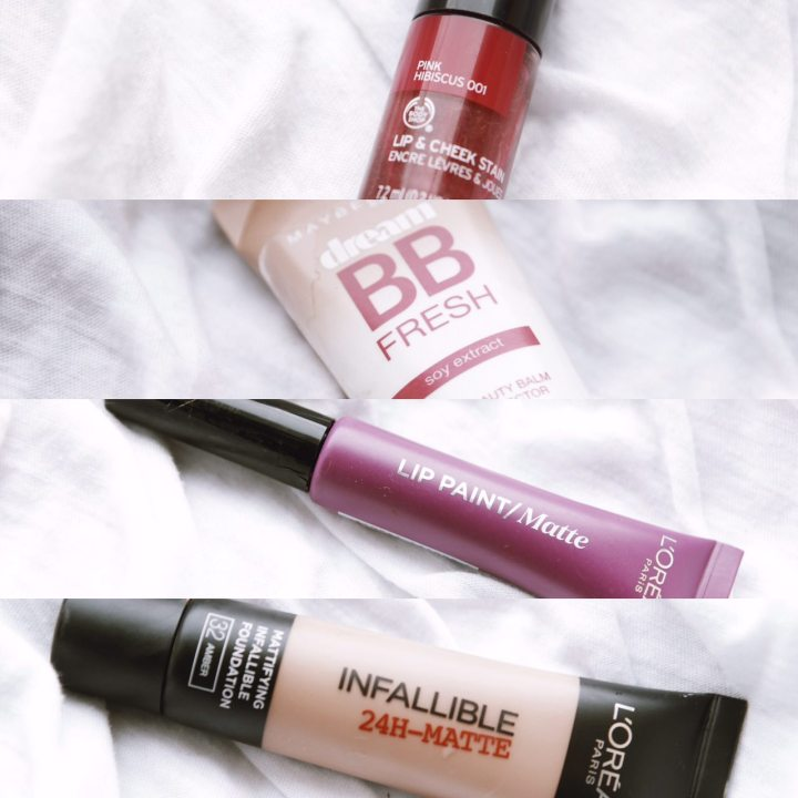 Lip, Cheek, Foundation & BBCream