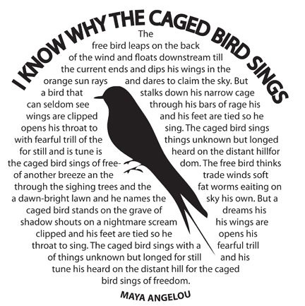 Maya Angelou I Know Why the Caged BirdSings