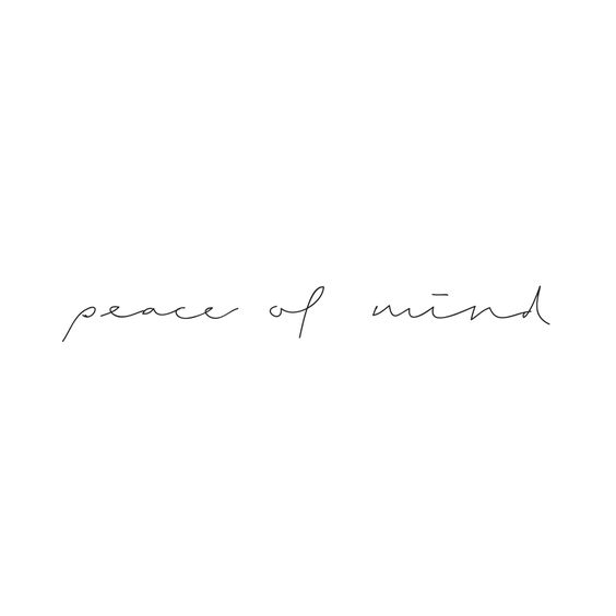 8 Steps to Peace of Mind