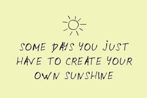 create your on sunshine