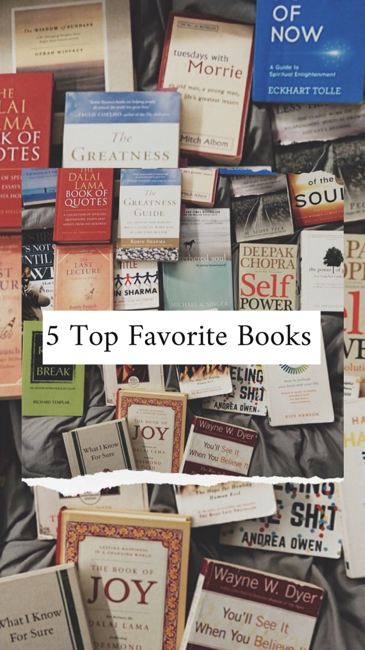 5 Top Favorite Books